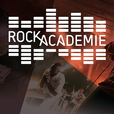 Rockacademie logo + Inside Out Showcase
